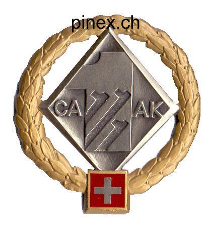 Feldarmeekorps 1 Gold Pinex Badges Armeeabzeichen