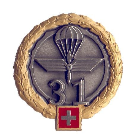 Photo de Insigne de Béret Brigade d'aviation 31 Forces aériennes suisses