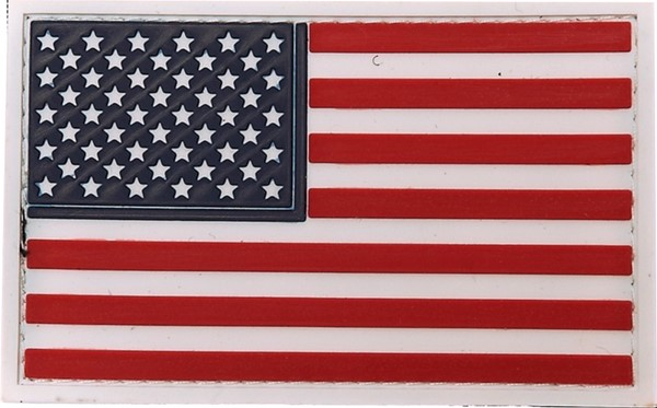 Photo de USA Flagge Stars and Stripes PVC Rubber Patch