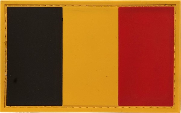 Photo de Belgien Flagge PVC Rubber Patch