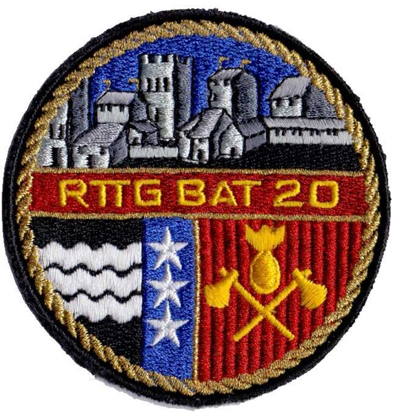 Photo de Badge Rttg Bat 20 de sauvetage armée suisse