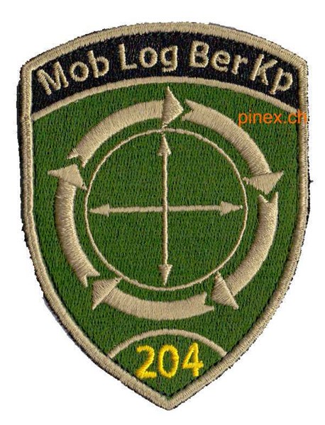 Photo de Mob Log Ber Kp 204 Pfeile Badge mit Klett