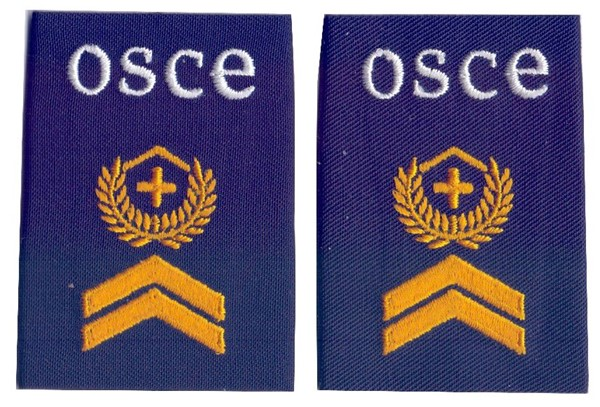 Photo de OSCE Insigne de grade Sergent-major