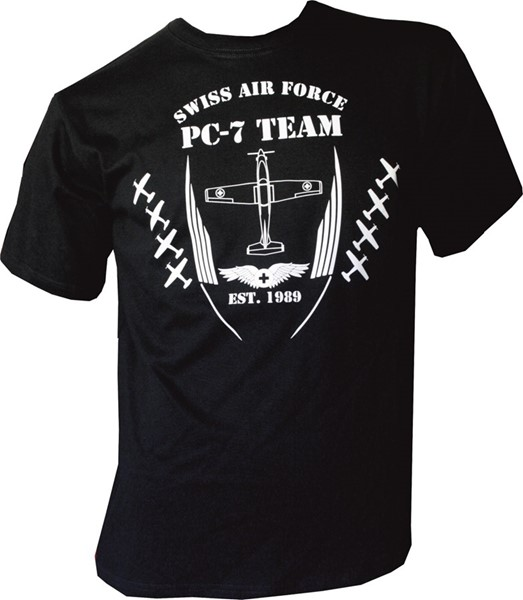 Photo de PC- 7 Team T-Shirt schwarz