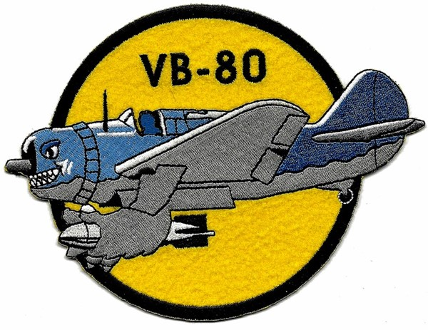 "Picture of VB-80 Douglas SBD ""Dauntless"" Bomberstaffel WWII"