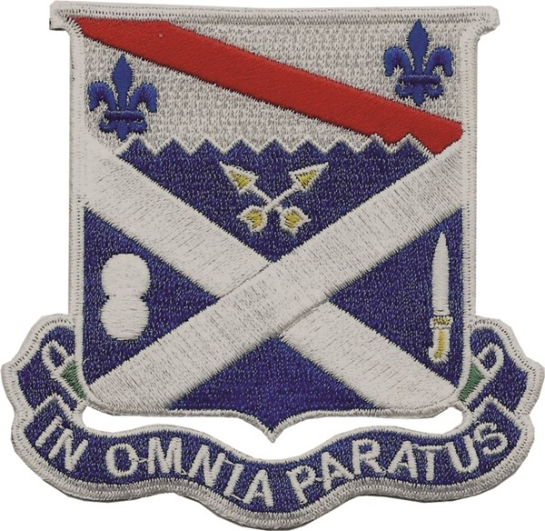 "Photo de 18th infanterie regiment ""in omnia paratus"""