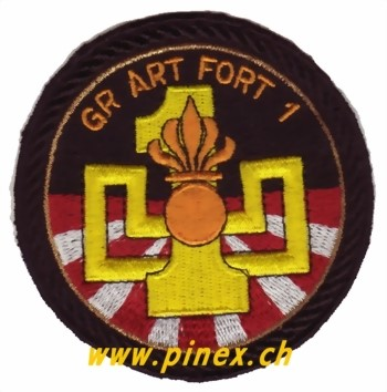Bild von Gr Art Fort 1 Badge Armee Suisse