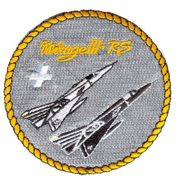 Picture of Mirage 3 RS Patch Swiss Air Force