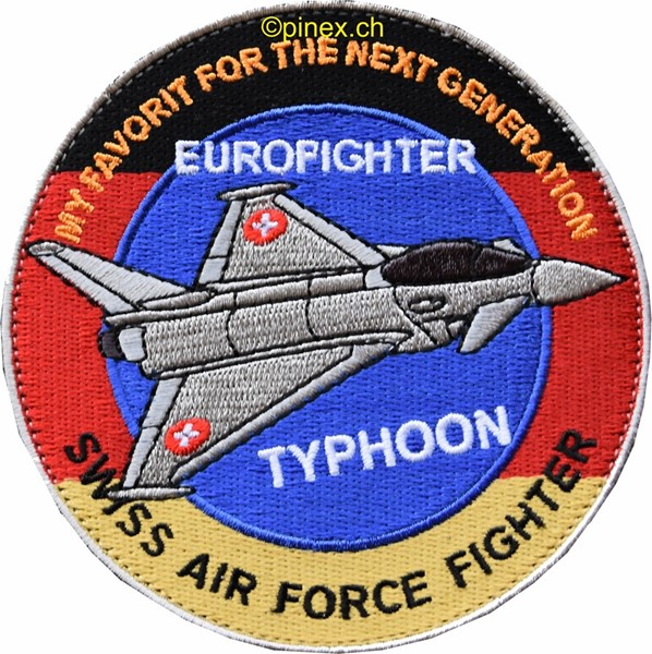 Picture of Eurofighter Typhoon, for the next generation swiss air force fighter