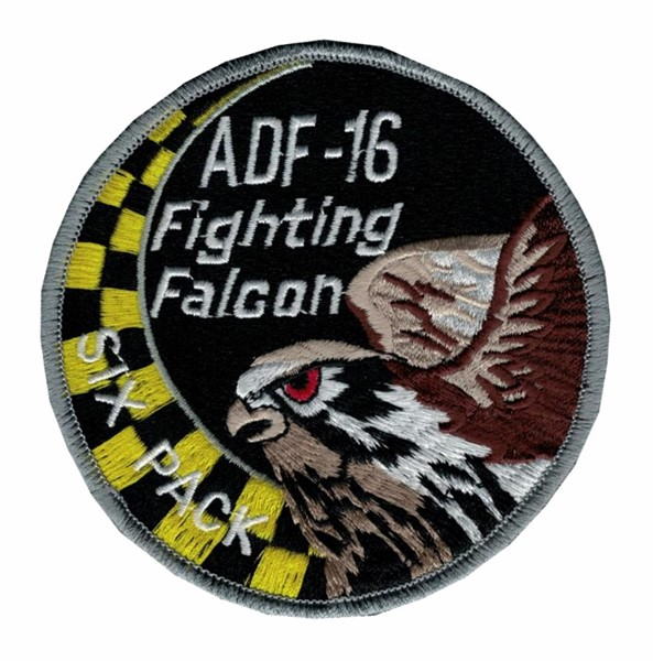 Picture of ADF16 Fighting Falcon, Six Pack, Tiger Squadron