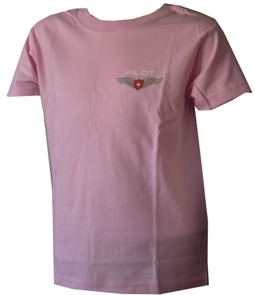 Picture of Pilot Wing Kinder T-Shirt Pink