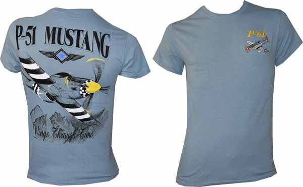 Picture of Mustang P51 Warbird T-Shirt