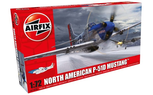 Photo de P-51D maquette en plastique Airfix