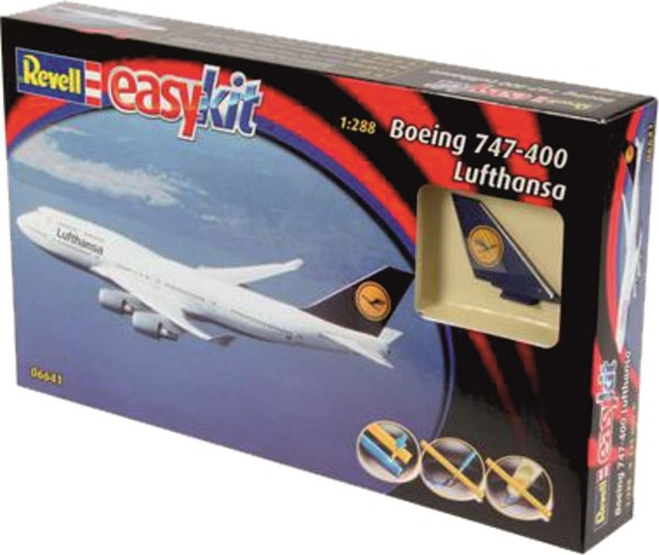 Picture of Revell Easy Kit Boeing 747 Lufthansa Stecksystem 1:288