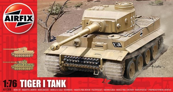 Picture of Airfix Tiger 1 Panzer Modellbausatz 1:72