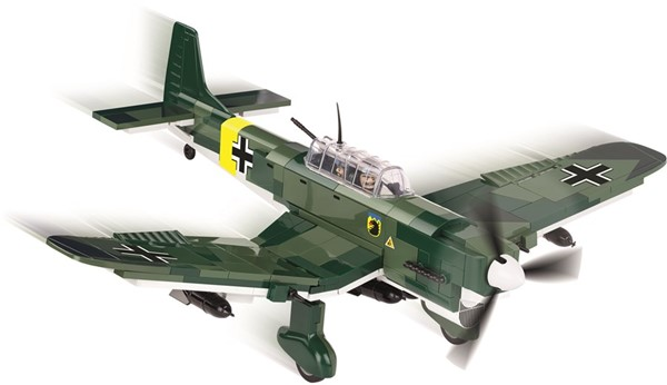 Photo de Junkers JU-87 B Stuka WWII Baustein Set