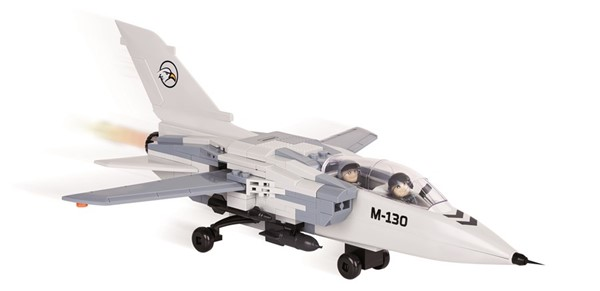 Photo de Cobi Tornado avion chasse maquette a construction de blocs