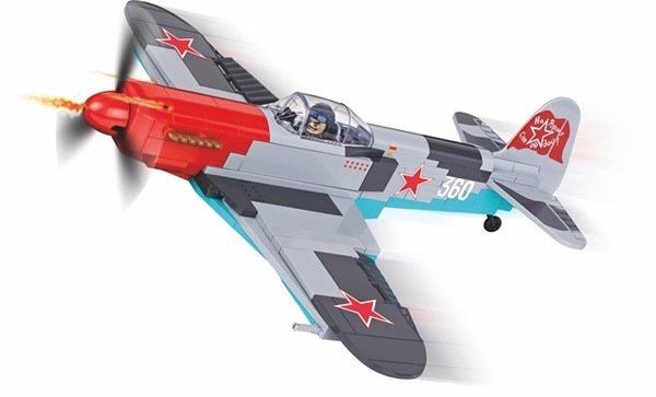 Photo de Cobi Yakovlev YAK-3 WWII Baustein Set