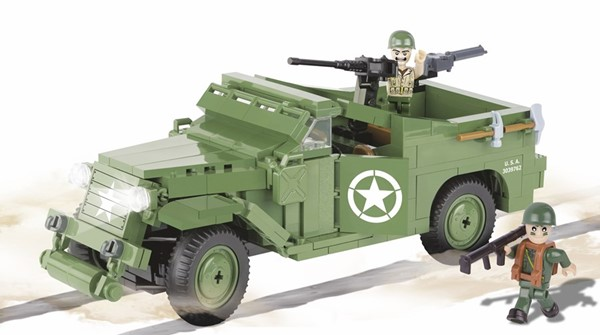 Photo de Cobi M3 Panzerspähwagen US Army WWII Baustein Set