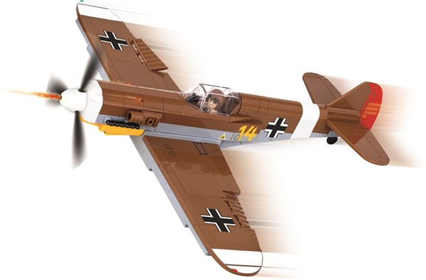 Picture of Cobi Messerschmitt BF-109 F-4 TROP WWII Baustein Set
