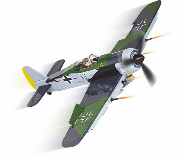 Photo de Cobi Focke-Wulf FW-190 A-8 WWII Baustein Set