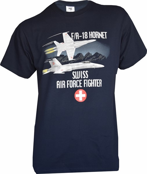 Picture of F/A 18 Hornet T-Shirt Navyblau