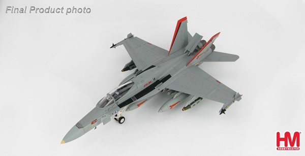 "Picture of F/A-18C Hornet VFA-94, US NAVY, ""Operation Enduring Freedom"", Hobby Master Metal Model"