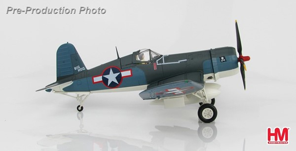 Photo de F4U Corsair VF-17 Nov 1943 US Navy maquette métal Hobbymaster