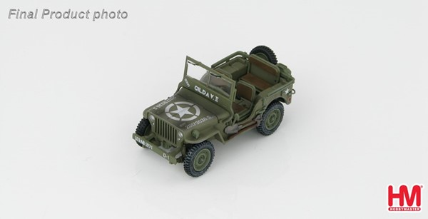 Photo de Willys Jeep maquette en métal vehicule militaire