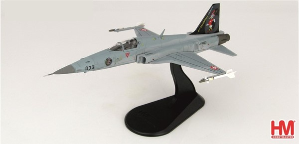 Picture of Tiger F5E diecast metal model Swiss Air Force, limited edition Hobby Master