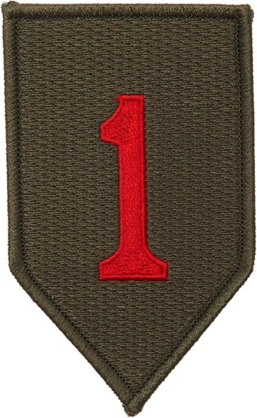 "Photo de 1st Infantry Division Abzeichen ""Big Red one"""