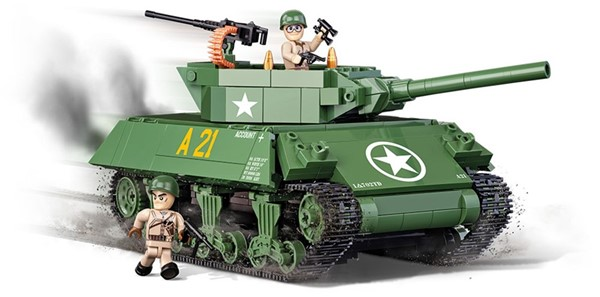 Photo de M-10 Wolverine Panzer US Army WWII Baustein Set Cobi