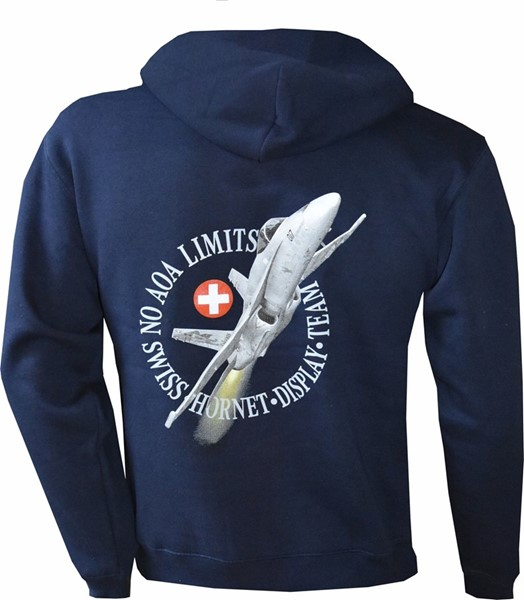Photo de F/A 18 Hornet NO AOA Solo Display Kaputzenjacke mit Zip