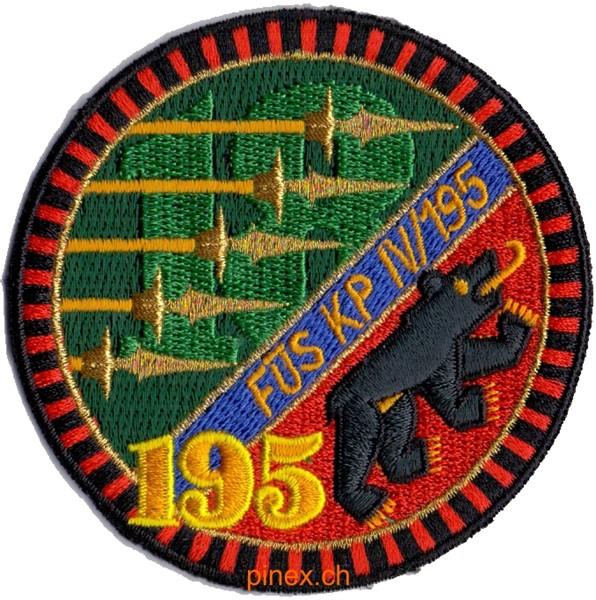 Photo de Füs Bat 195 Kp 4-195 Emblem Armee 95