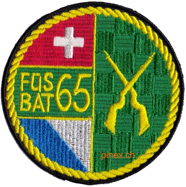 Photo de Füs Bat 65  Rand gelb