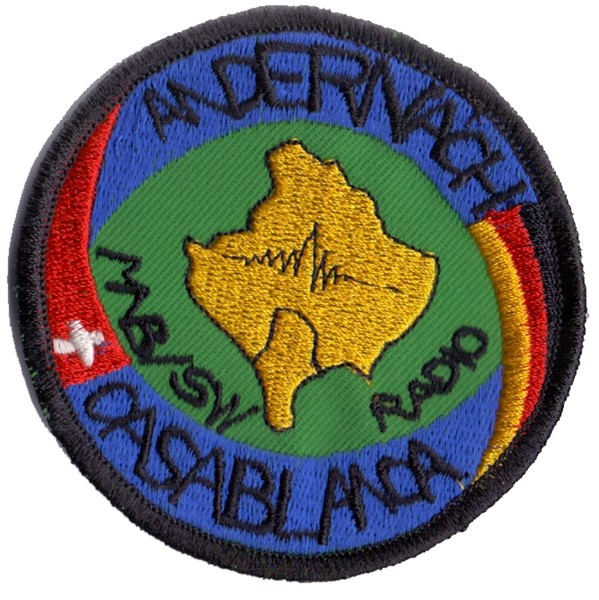 Photo de Swisscoy Andernach-Casablanca Patch Schweizer Armee mit Klett