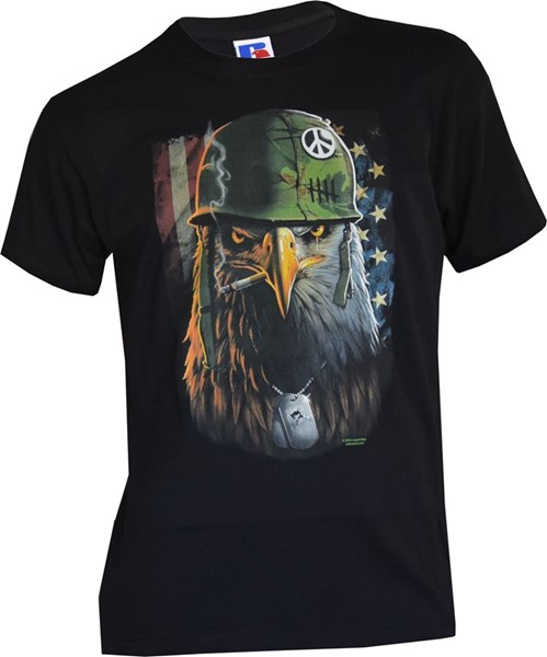 Photo de US Army Eagle T-Shirt schwarz