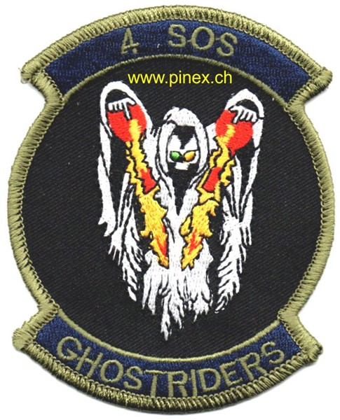 Photo de 4th SOS Special Operations Squadron Ghostriders Abzeichen