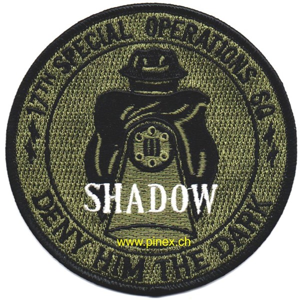 "Photo de 17th SOS Special Operations Squadron ""Shadow"" Deny him the dark US Air Force Abzeichen"