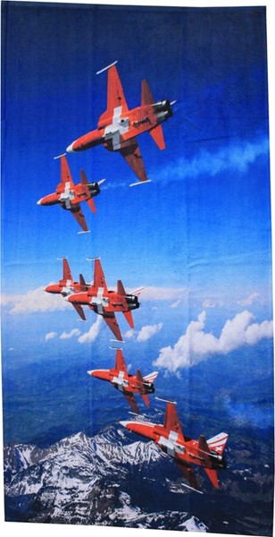 Photo de Serviette de bain Patrouille Suisse