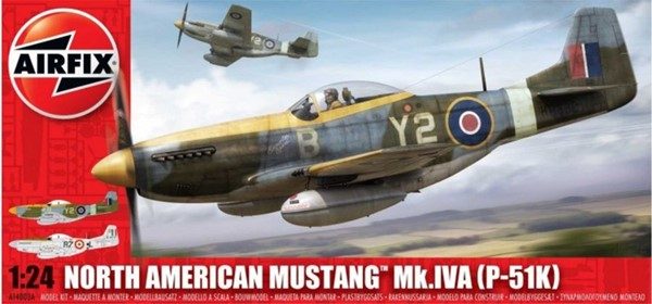 Photo de Airfix maquettes avion Mustang P51 1:24