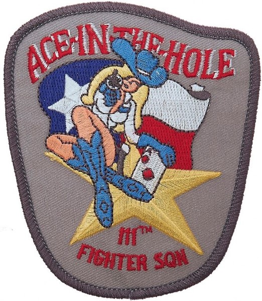 Picture of 111th Fighter Squadron Ace in the Hole Abzeichen