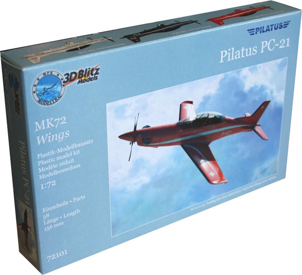 Picture of Pilatus PC-21 Plastik Modellbau Set 1:72