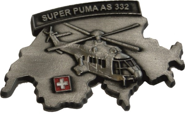 Photo de Super Puma Magnet, Metall 50mm