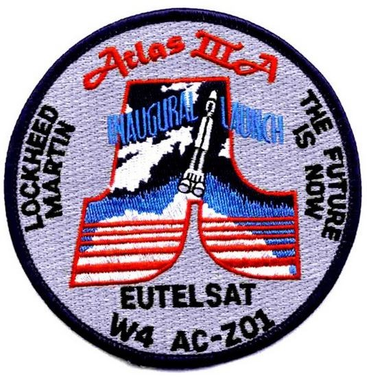 Bild von Lockheed Martin Atlas IIIA Orbital Launch Vehicle Patch