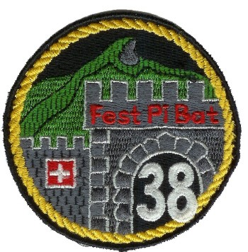 Photo de Badge Festungs Pionier Bataillon 38