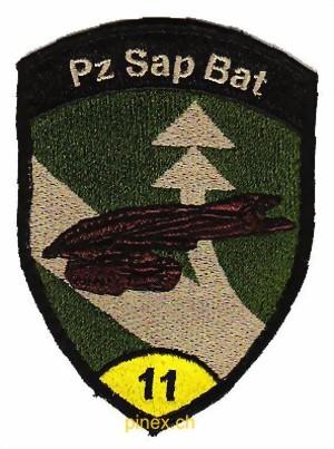 Panzer Sapeur Bataillon 11 Gelb Badge Panzersapeur