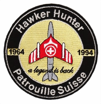 Picture of Hawker Hunter Remember Patch Patrouille Suisse