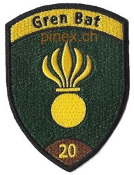 Photo de Gren Bat 20 braun Badge ohne Klett