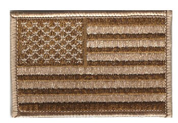 Picture of USA Flag camouflage tarnfarben  78mm